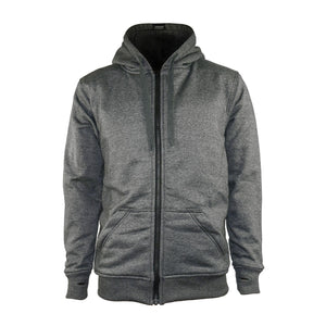 Lazyrolling Armored Hoodie 2020 grey front view