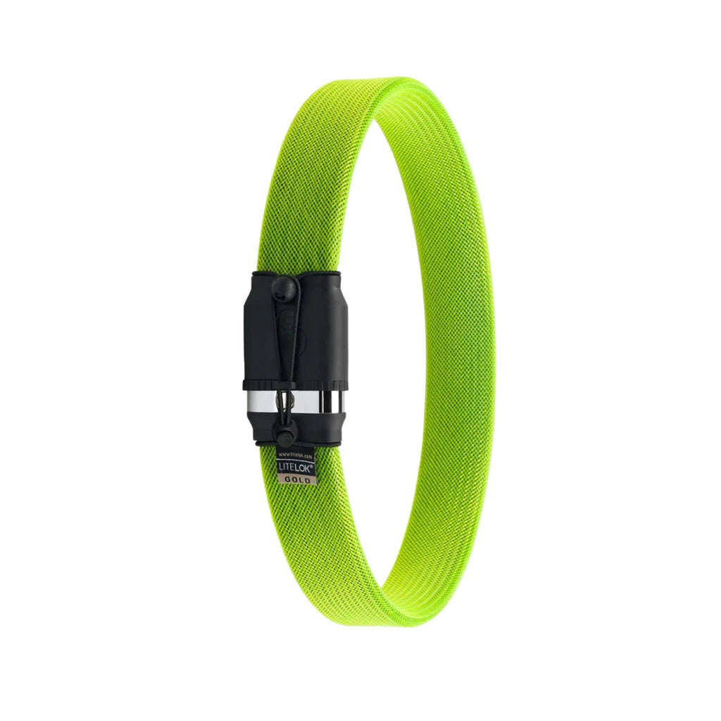Litelok Gold Wearable Bike Lock green single