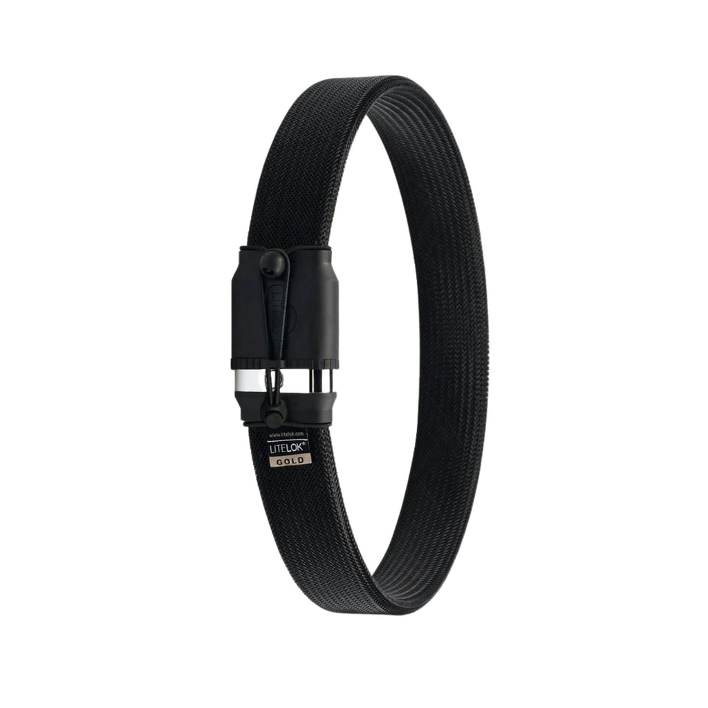 Litelok Gold Wearable Bike Lock black single