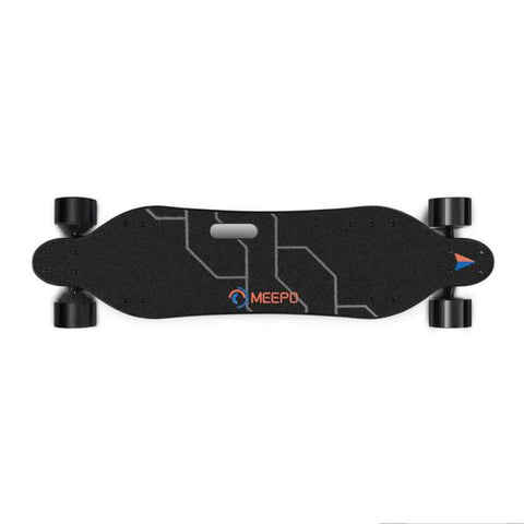 Meepo V3 Electric Skateboard birds eye view