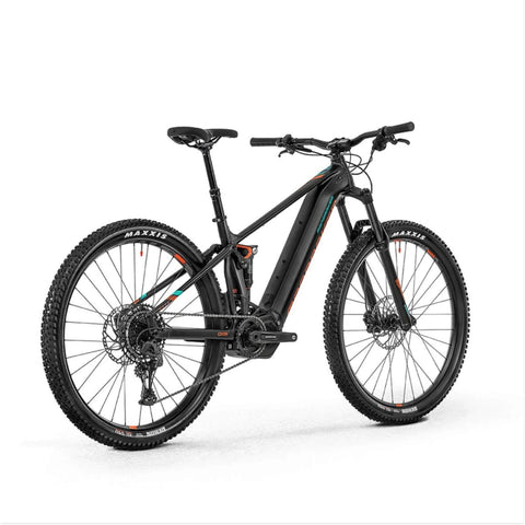 Image of Mondraker Dusk R Electric Bike rear angle