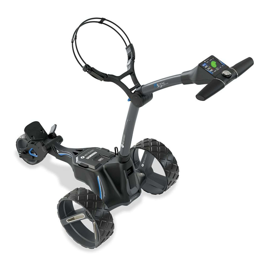 Motocaddy M5 GPS DHS Electric Golf Caddy top view
