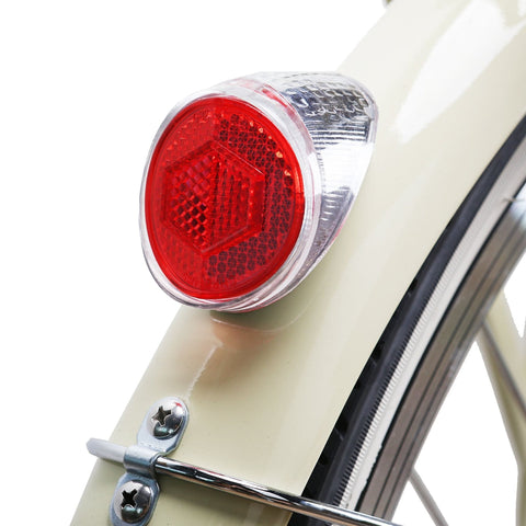 Image of NAKTO Classic City Electric Bicycle back light