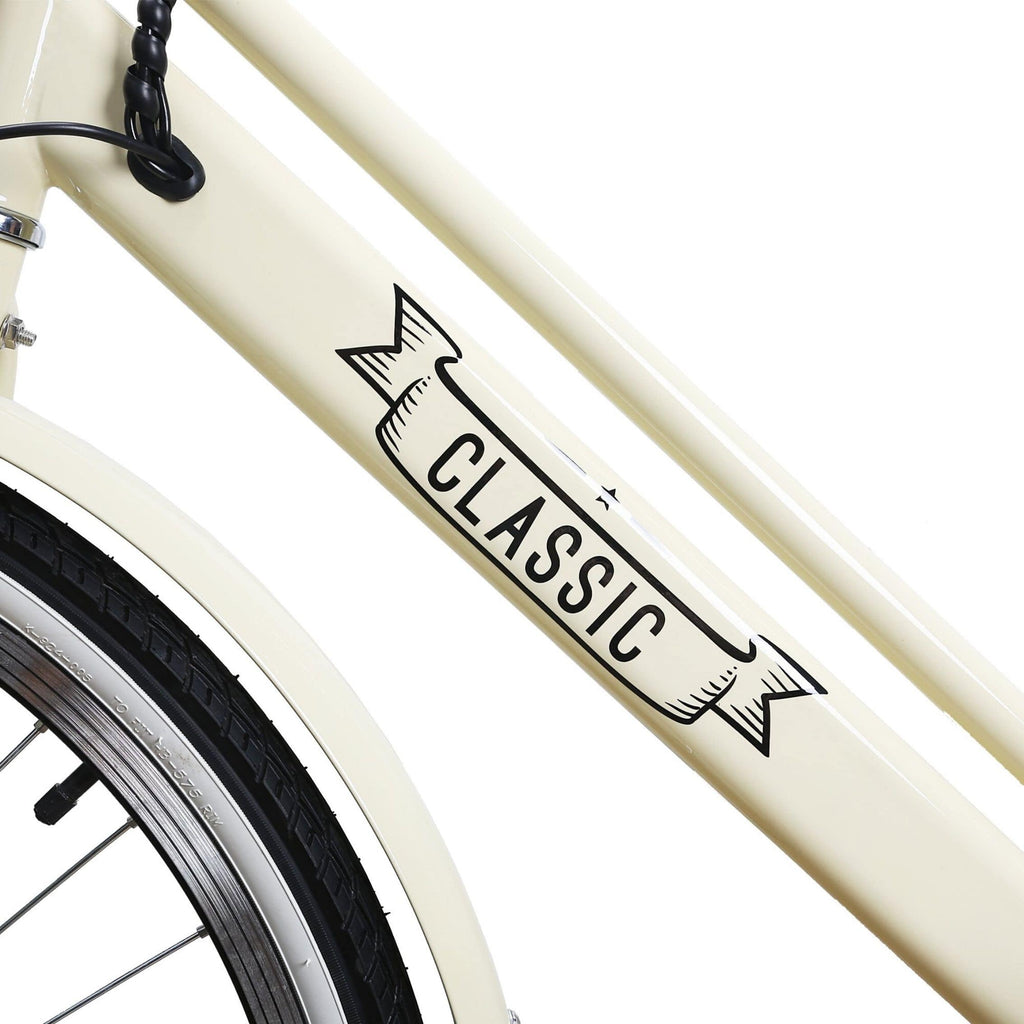 NAKTO Classic City Electric Bicycle frame
