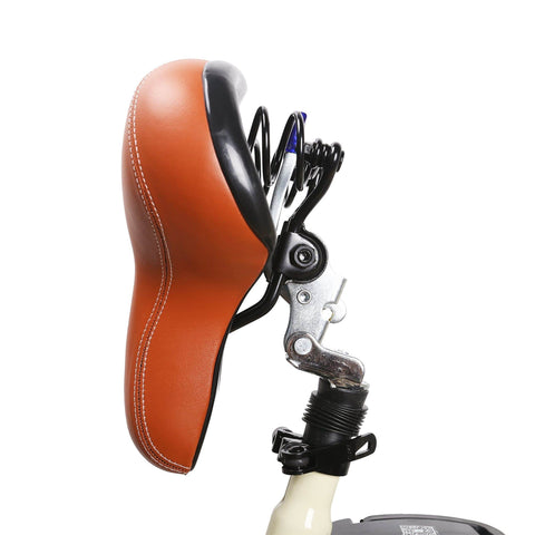 Image of NAKTO Classic City Electric Bicycle folded seat