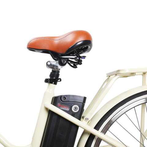 Image of NAKTO Classic City Electric Bicycle seat