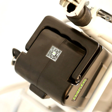 Image of NAKTO Elegance City Electrical Bicycle battery close up