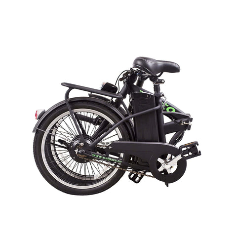 Image of NAKTO Fashion Foldable Electric Bicycle folded
