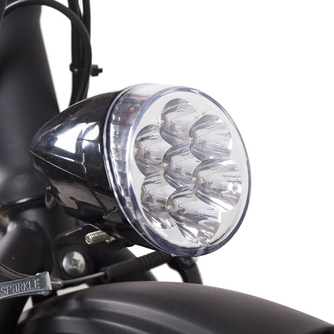 NAKTO Fashion Foldable Electric Bicycle light