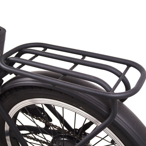 Image of NAKTO Fashion Foldable Electric Bicycle rear rack