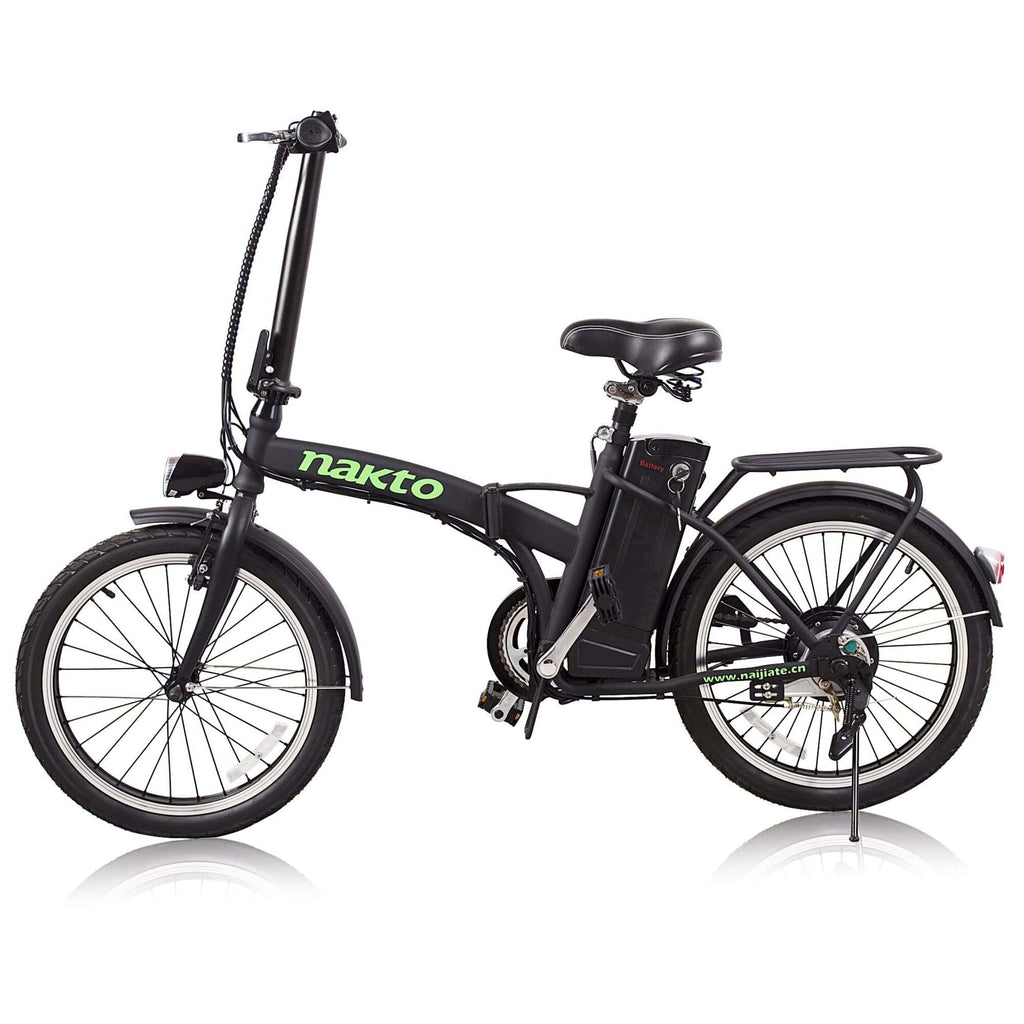 NAKTO Fashion Foldable Electric Bicycle side view
