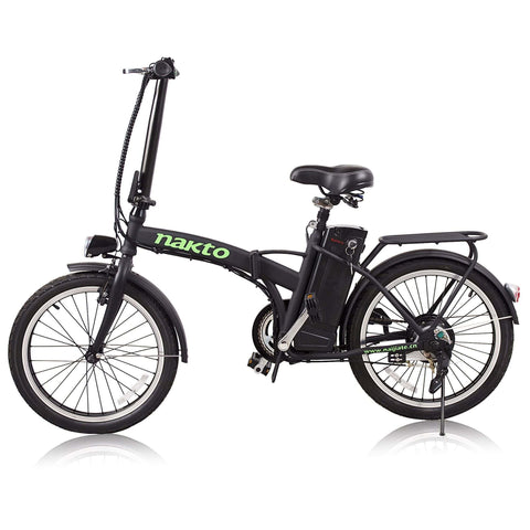 Image of NAKTO Fashion Foldable Electric Bicycle side view