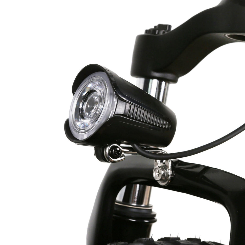 NAKTO Mini Cruiser Folding Electric Bike front light