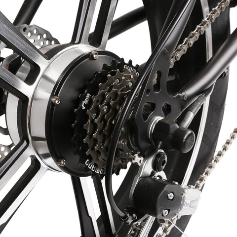 Image of NAKTO Mini Cruiser Folding Electric Bike chains