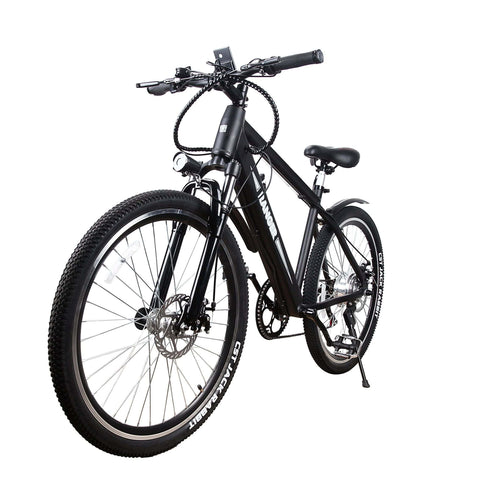 Image of NAKTO Ranger Electric Mountain Bicycle front angle view