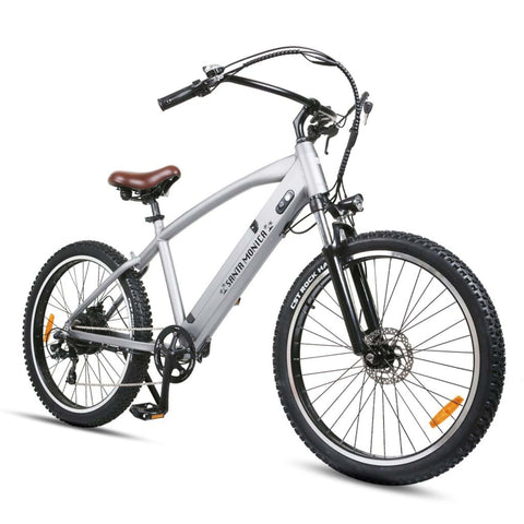 Image of NAKTO Santa Monica Electric Bike front angle view
