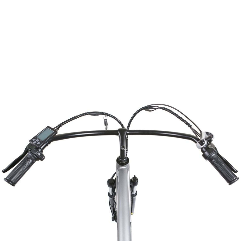 NAKTO Santa Monica Electric Bike handle bars top view