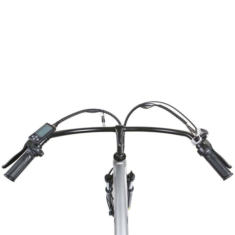Image of NAKTO Santa Monica Electric Bike handle bars top view