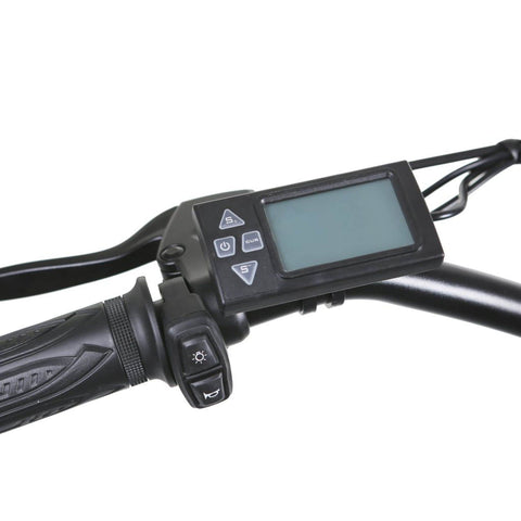Image of NAKTO Santa Monica Electric Bike monitor close up