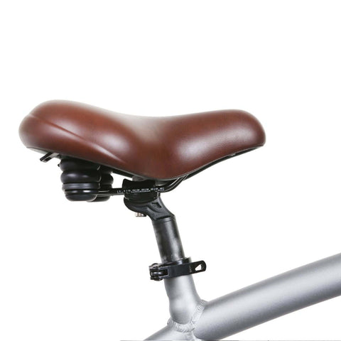 Image of NAKTO Santa Monica Electric Bike seat close up
