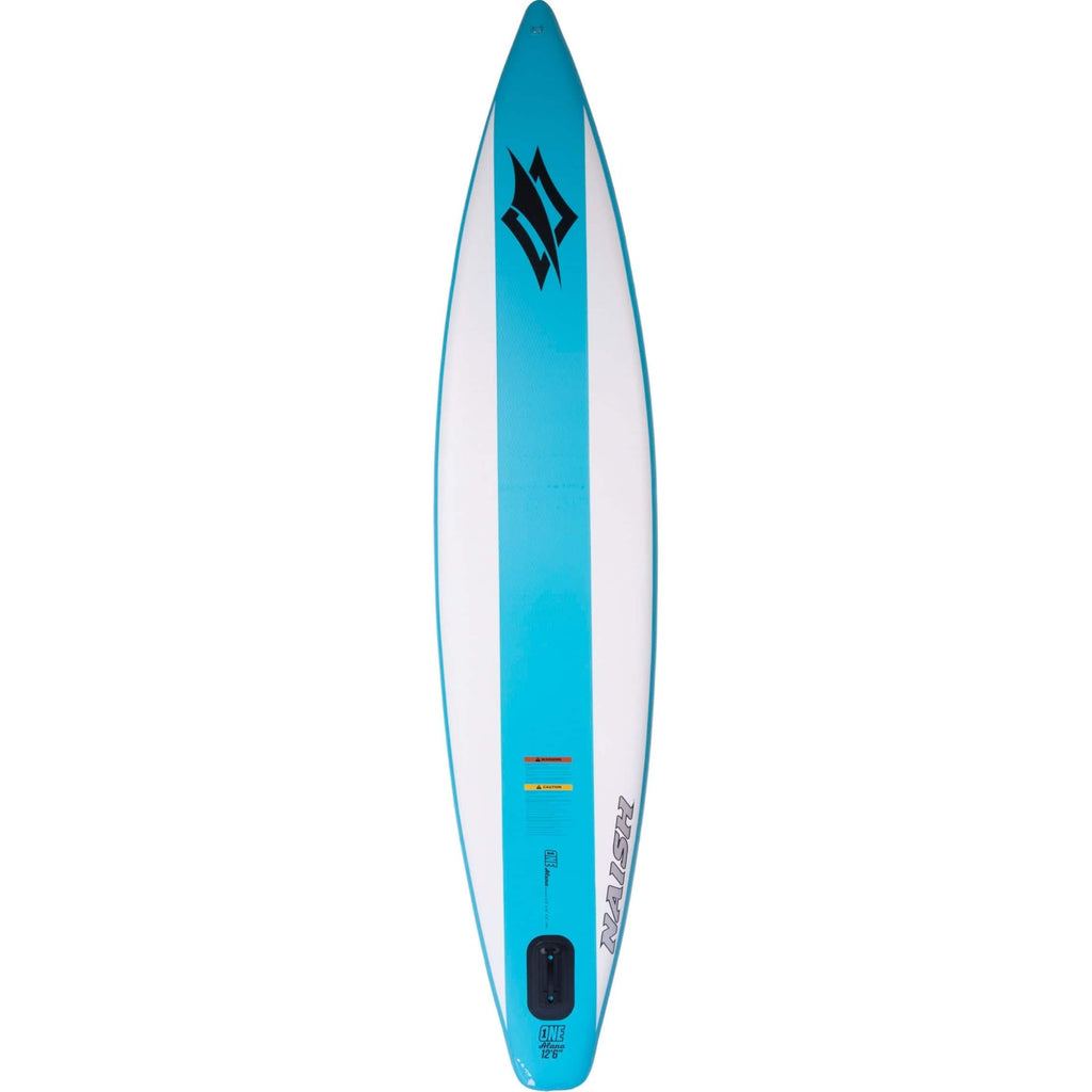 Naish S25 One Air Inflatable SUP blue rear