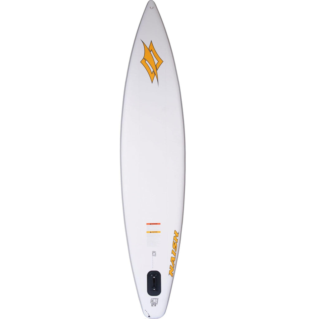 Naish S25 One Air Inflatable SUP orange rear