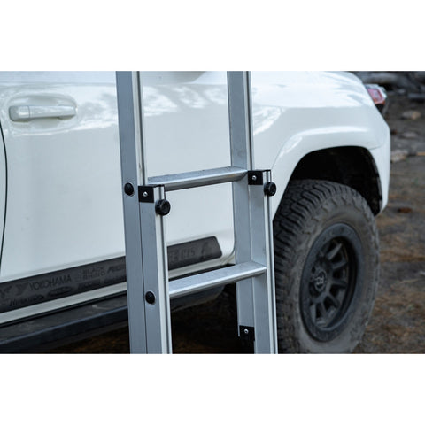 Napier Horizon Rooftop Tent ladder close up