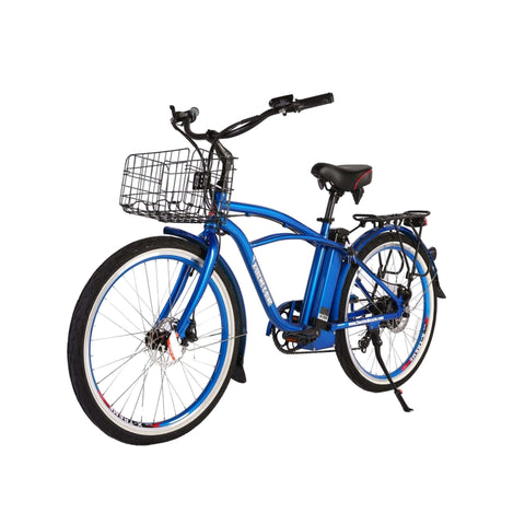 Image of Newport Elite Max 36 Volt Electric Bike Blue