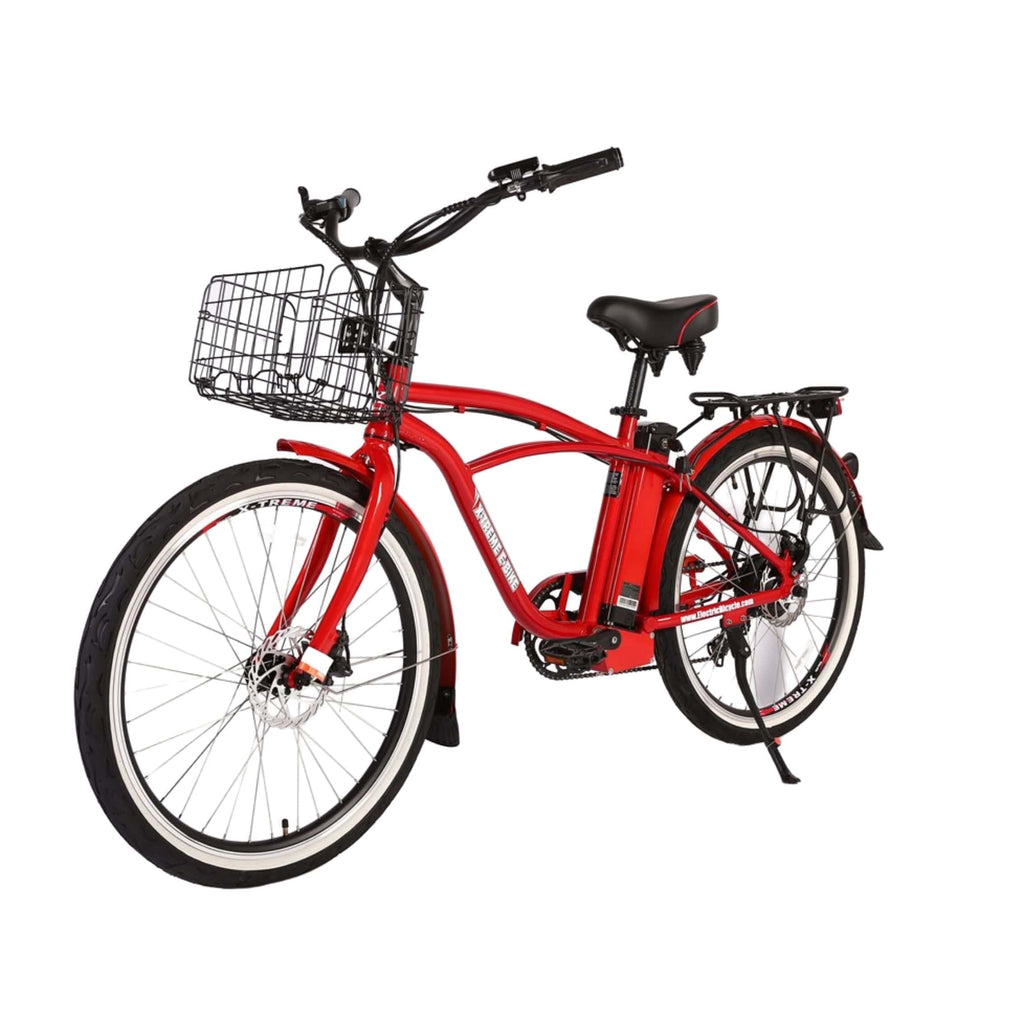 Newport Elite Max 36 Volt Electric Bike Red