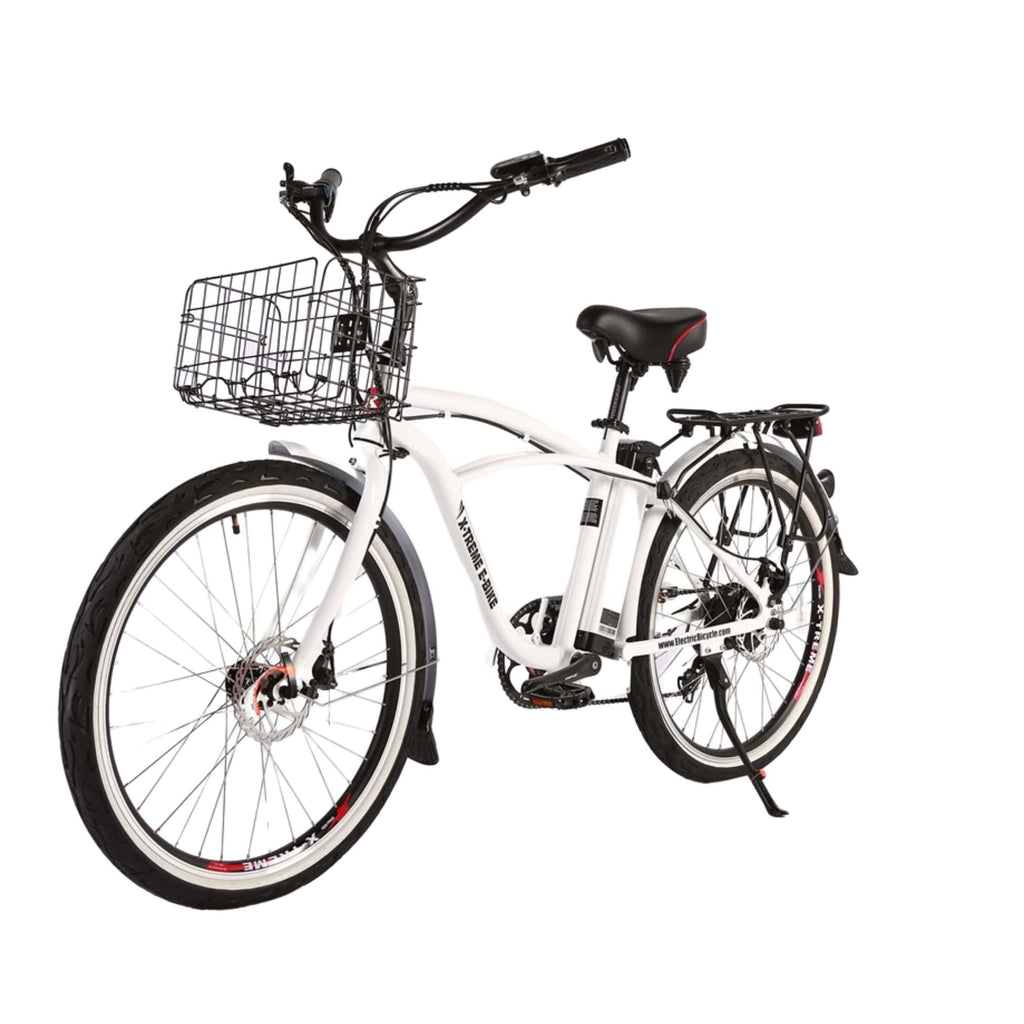 Newport Elite Max 36 Volt Electric Bike White