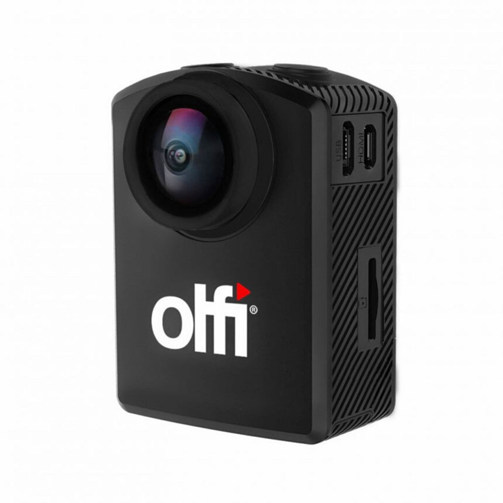 OLFI One.Five Black 4K Action Camera Front