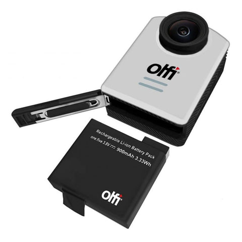 Image of OLFI One.Five White 1080P HD Camera (2nd Gen) Battery
