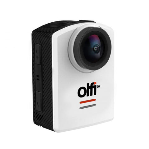Image of OLFI One.Five White 1080P HD Camera (2nd Gen) Side View