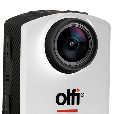 Image of OLFI One.Five White 1080P HD Camera (2nd Gen) Lens View