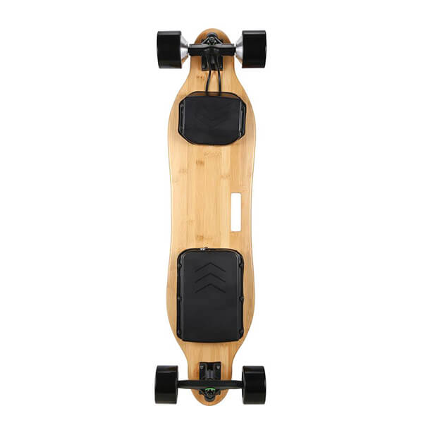 Onlyone O-3 38 Electric Longboard with Wireless Remote Back View Vertical