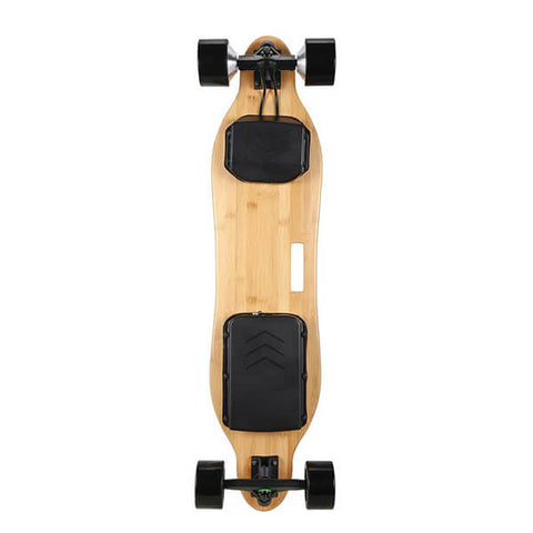Image of Onlyone O-3 38 Electric Longboard with Wireless Remote Back View Vertical