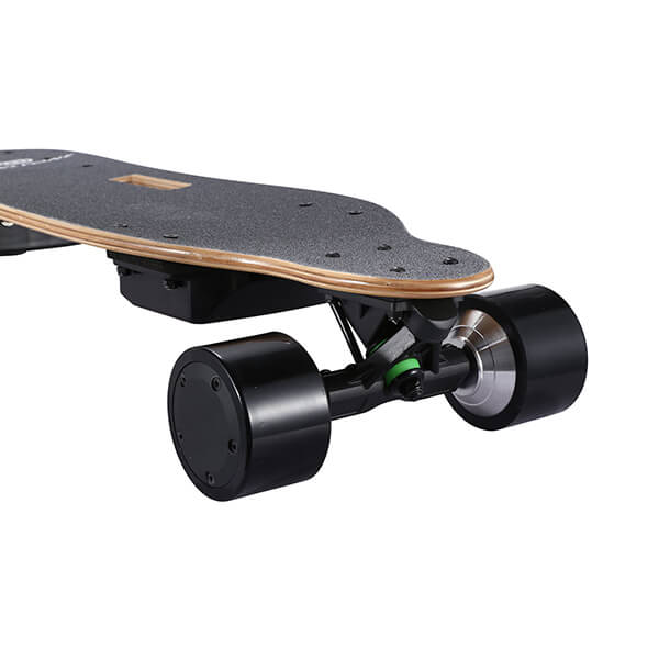 Onlyone O-3 38 Electric Longboard with Wireless Remote Top Front View Close Up