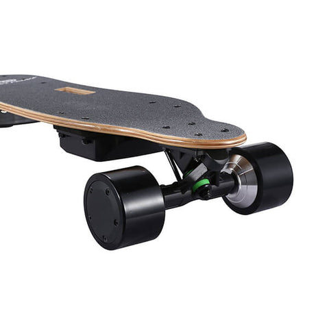 Image of Onlyone O-3 38 Electric Longboard with Wireless Remote Top Front View Close Up