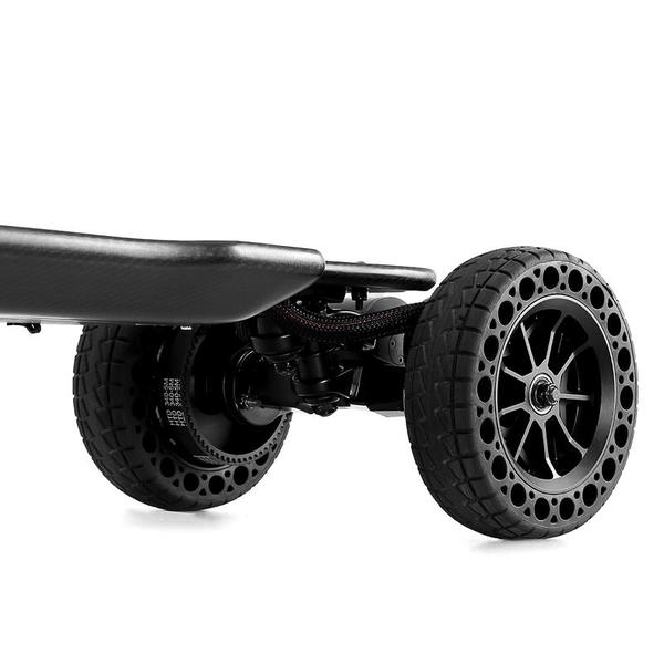 Ownboard Carbon AT Off-Road Electric Longboard Wheel Close Up