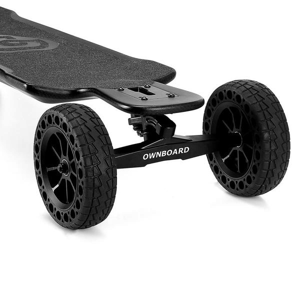 Ownboard Carbon AT Off-Road Electric Longboard Close Up