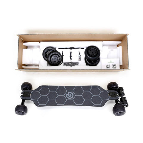 Ownboard Bamboo AT Electric Skateboard unboxed
