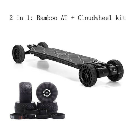 Image of Ownboard Bamboo AT Electric Longboard  2 In 1