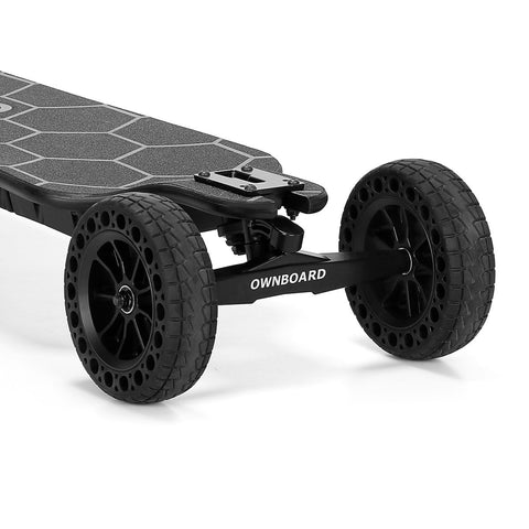 "Image of Ownboard Bamboo AT (39"") front wheels"