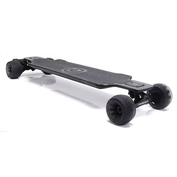 Ownboard Carbon AT Electric Longboard 3D View With 120mm  Cloudwheels