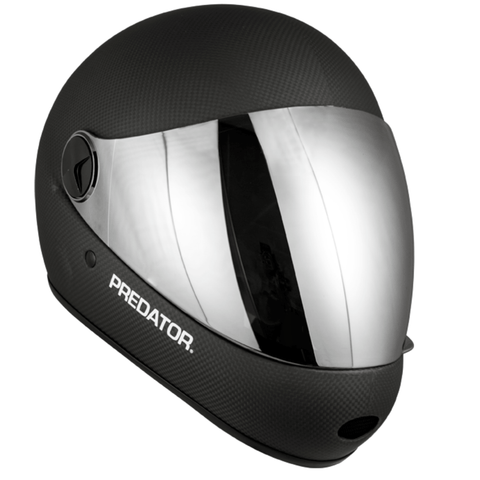 Image of Predator DH6 Full Face Carbon Helmet front view