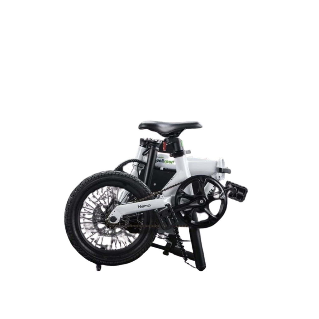 Qualisports Nemo Electric Bike Folding View