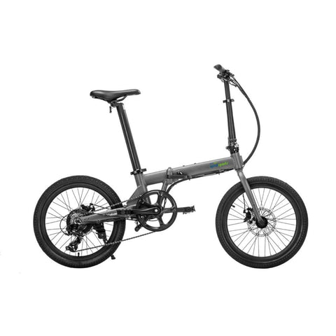 Image of Qualisports Volador Electric Bike Grey Side View