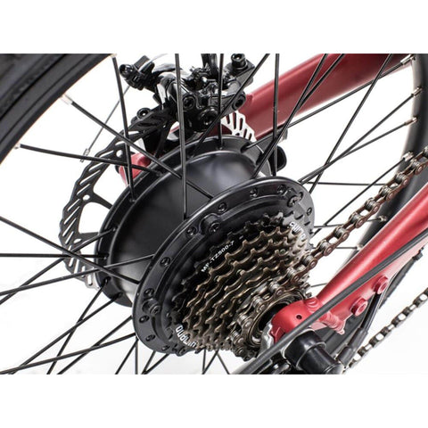 Image of Qualisports Volador Electric Bike Spokes View