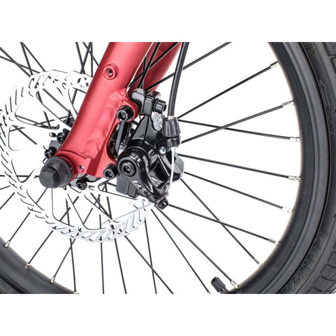 Image of Qualisports Volador Electric Bike Wheel View