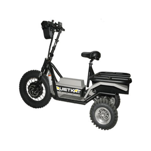 Image of Quietkat Prowler Electric Bike side angle